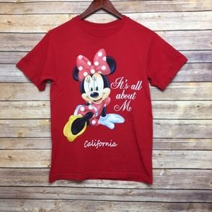 [Disney] Minnie Mouse Red T-Shirt